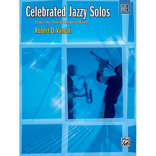 Alfred Celebrated Jazzy Solos Book 4 Piano