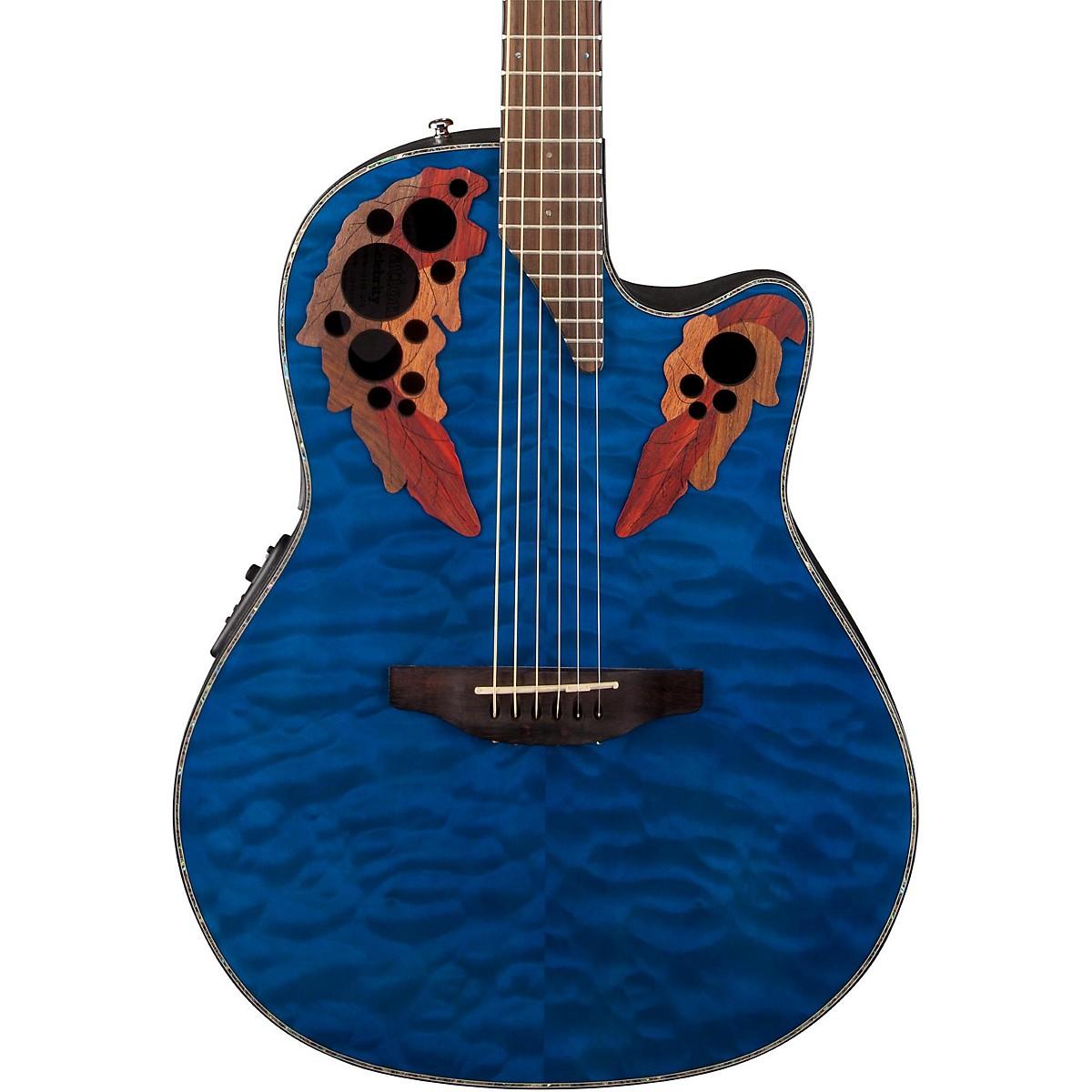 Ovation Celebrity Elite Plus Acoustic-Electric Guitar