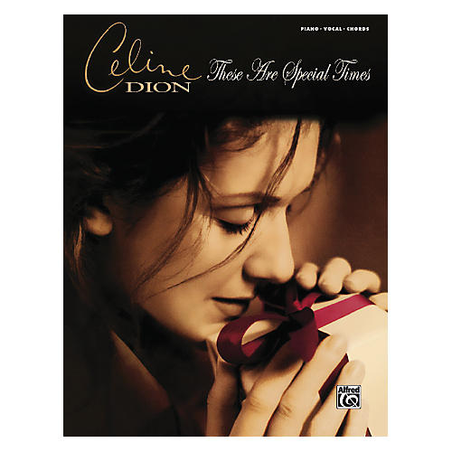 Alfred Celine Dion These Are Special Times PVC Book