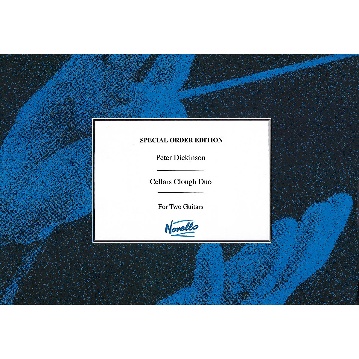 Novello Cellars Clough Duo (Two Guitars Performance Score) Music Sales America Series Softcover