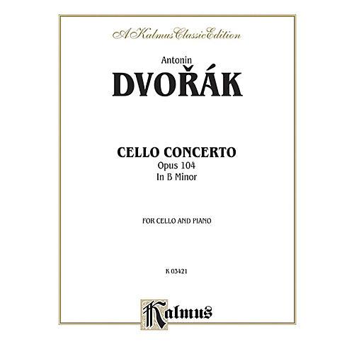 Alfred Cello Concerto Op. 104 for Cello By Antonin Dvor¡k Book