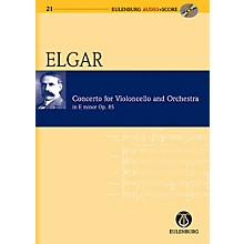 Eulenburg Cello Concerto in E Minor Op. 85 Eulenberg Audio plus Score Series Composed by Edward Elgar