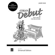 Carl Fischer Cello Debut - Piano Accompaniment (Book)