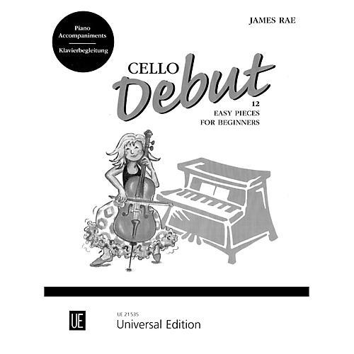 Carl Fischer Cello Debut - Piano Accompaniment (Book)