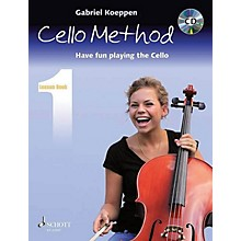 Schott Cello Method - Lesson Book 1 (Have Fun Playing the Cello) String Series Softcover with CD