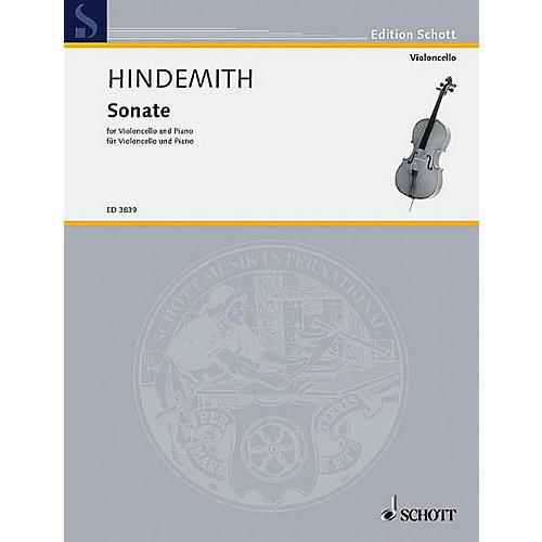 Schott Cello Sonata (1948) (Cello and Piano) Schott Series