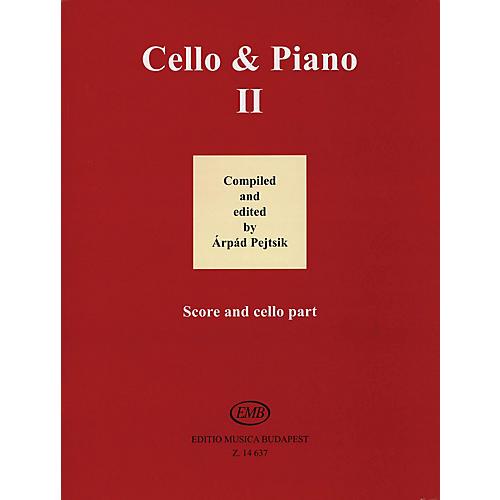 Editio Musica Budapest Cello and Piano (Volume 2) EMB Series