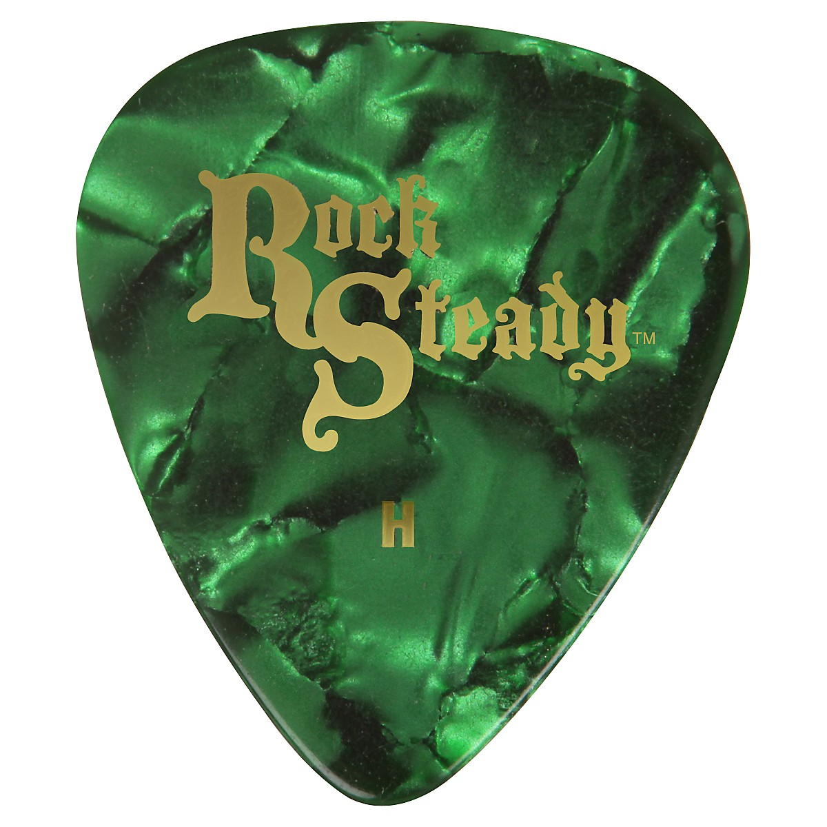 Rock Steady Celluloid Guitar Picks - 1 Dozen