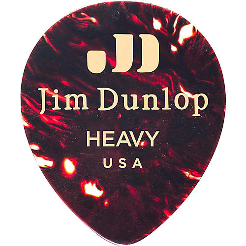 Dunlop Celluloid Teardrop, Shell Guitar Picks