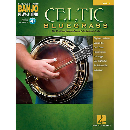 Hal Leonard Celtic Bluegrass - Banjo Play-Along Vol. 8 (Book/Audio Online)