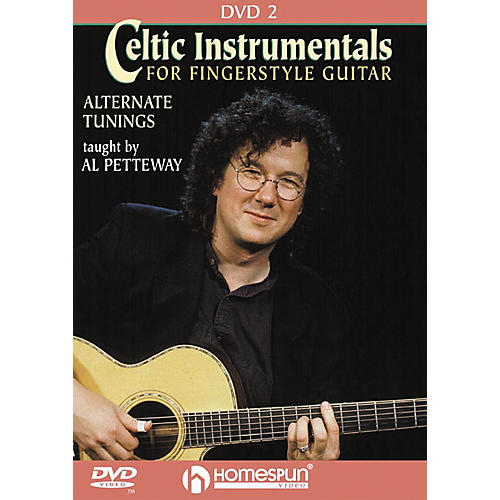 Homespun Celtic Instrumentals for Fingerstyle Guitar 2 (DVD)