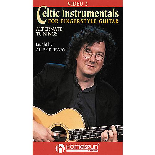 Homespun Celtic Instrumentals for Fingerstyle Guitar 2 (VHS)