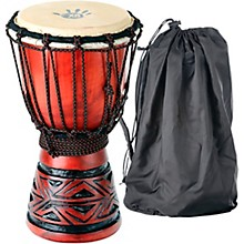 Celtic Labyrinth Djembe Drum 6.75 x 12 in.