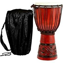Celtic Labyrinth Djembe Drum 8 x 15 in.