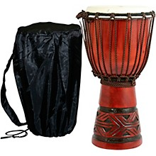 Celtic Labyrinth Djembe Drum 9 x 16 in.