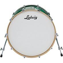 Ludwig Centennial Bass Drum Level 1 Black Lacquer 22X20