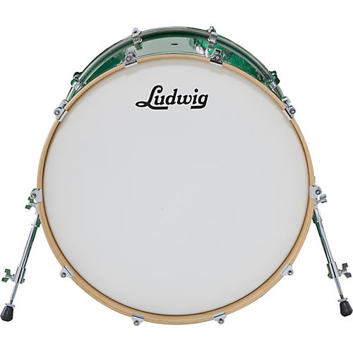 5d042d612275 Open Box Ludwig Centennial Bass Drum Black Lacquer 22X20