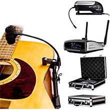 Nady CenterStage Satellite, 100-Channel True Diversity Wireless Instrument System for Acoustic or Nylon String Guitar