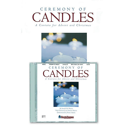 Shawnee Press Ceremony of Candles (Preview Pak (Book/CD)) PREVIEW PAK CD composed by Joseph M. Martin