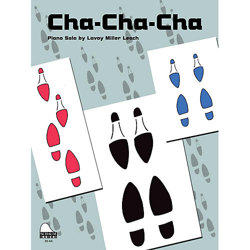 SCHAUM Cha-Cha-Cha Educational Piano Series Softcover