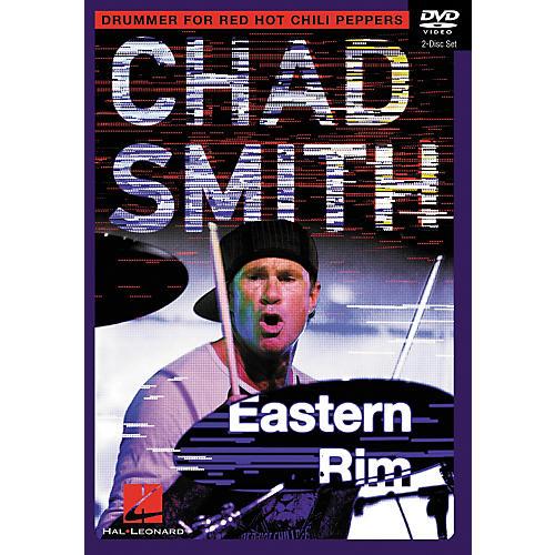 Hal Leonard Chad Smith Eastern Rim Drum Instruction 2-DVD set