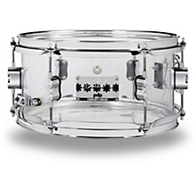 Chad Smith Signature Acrylic Snare Drum 12 x 6 in. Clear
