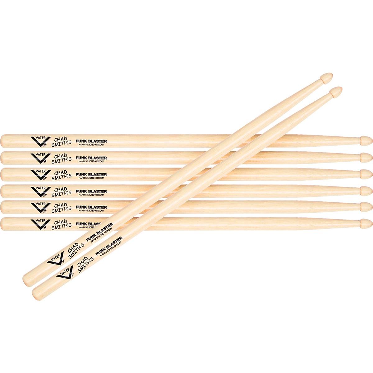 Vater Chad Smith Signature Funk Blaster Drumsicks - Buy 3, Get 1 Free