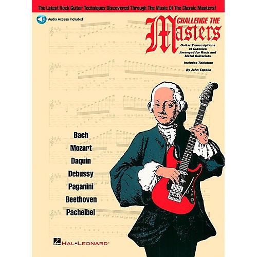 Hal Leonard Challenge The Masters Guitar School Book with CD