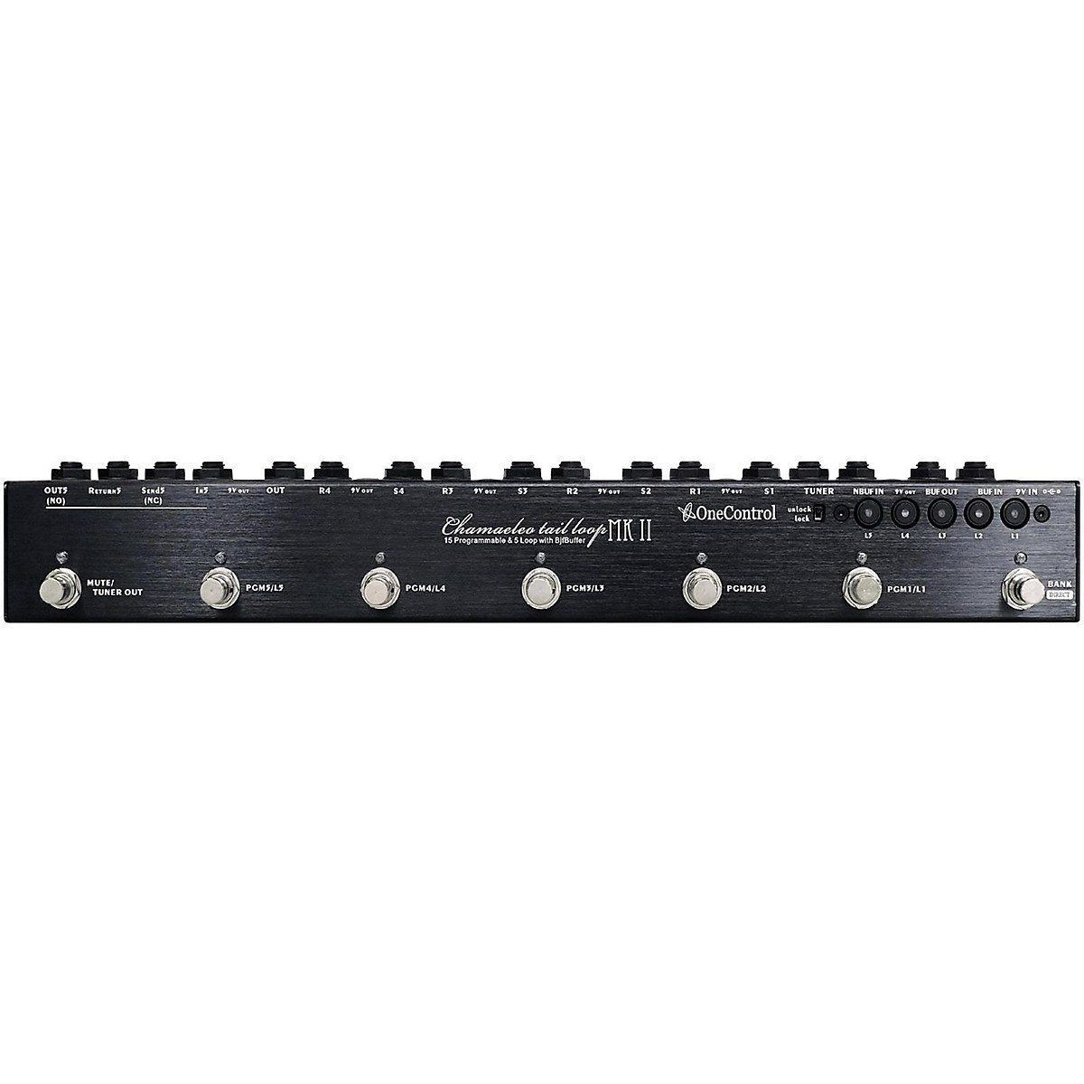 One Control Chamaeleo Tail Loop MKII 5-Loop Programmable Switcher