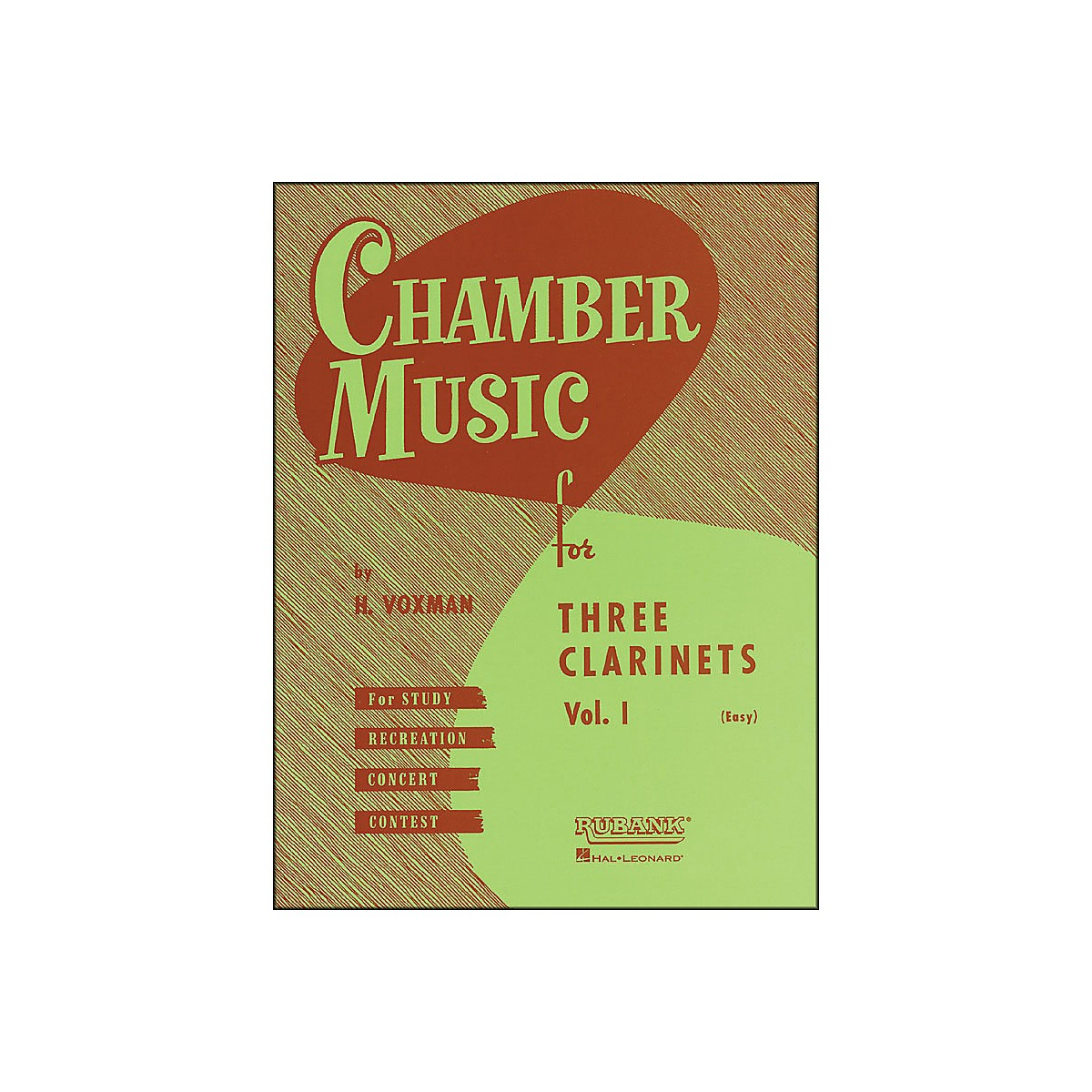 Hal Leonard Chamber Music Series Three Clarinets Vol. 1