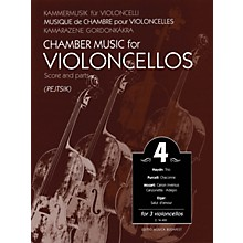 Editio Musica Budapest Chamber Music for Violoncellos - Volume 4 (3 Violoncellos Score and Parts) EMB Series Composed by Various