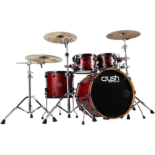 Crush Drums & Percussion Chameleon Ash Trans Lacquer 5-Piece Shell Pack