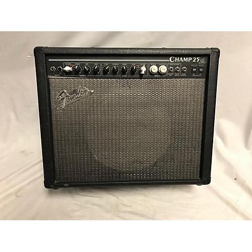 used fender champ 25 se guitar combo amp guitar center. Black Bedroom Furniture Sets. Home Design Ideas