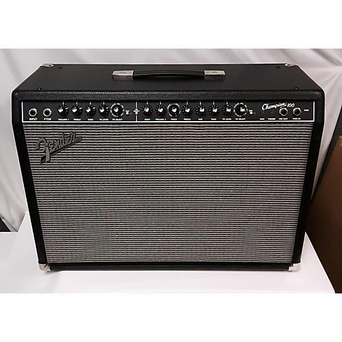 used fender champion 100 guitar combo amp guitar center. Black Bedroom Furniture Sets. Home Design Ideas