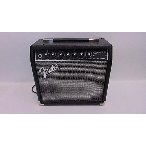 Fender Champion 20 Guitar Combo Amp Review : used fender champion 20 guitar combo amp guitar center ~ Vivirlamusica.com Haus und Dekorationen