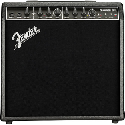 Fender Champion 50XL 50W 1x12 Guitar Combo Amp