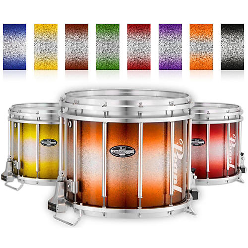 Pearl Championship CarbonCore Varsity FFX Marching Snare Drum Burst Finish