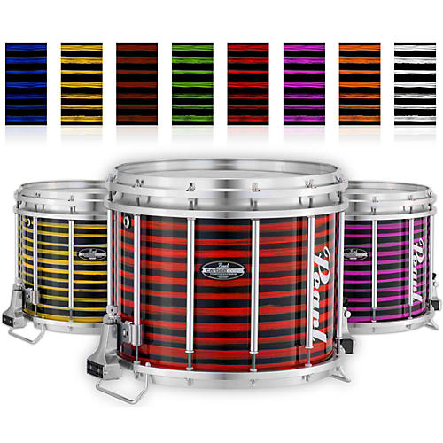 Pearl Championship CarbonCore Varsity FFX Marching Snare Drum Spiral Finish