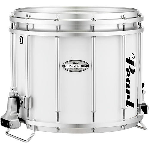 pearl championship maple ffx marching snare drum 14 x 12 in pure white guitar center. Black Bedroom Furniture Sets. Home Design Ideas