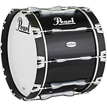 Pearl Championship Maple Marching Bass Drum, 30 x 16 in. Level 1 Midnight Black