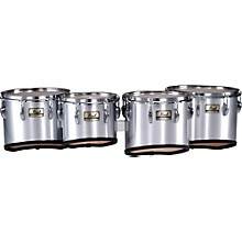 Pearl Championship Marching Tom Set with R Ring Level 1 Brushed Silver (#26) 10,12,13,14 set