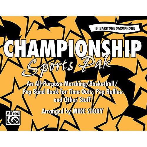 Alfred Championship Sports Pak E-Flat Baritone Saxophone