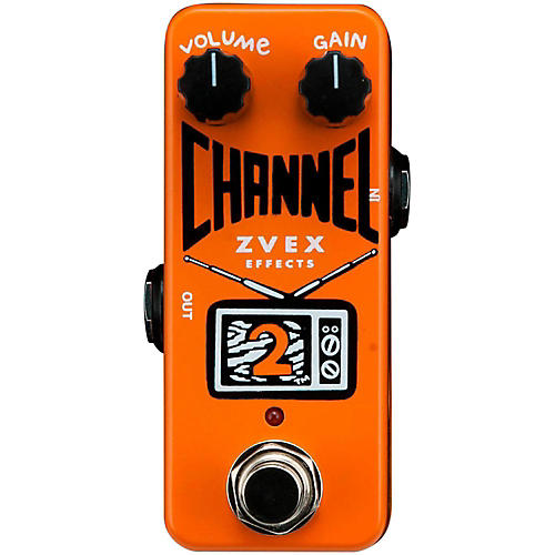 Zvex Channel 2 Overdrive Guitar Effects Pedal