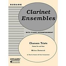Rubank Publications Chanson Triste (Three Bb Clarinets with Piano - Grade 2.5) Rubank Solo/Ensemble Sheet Series