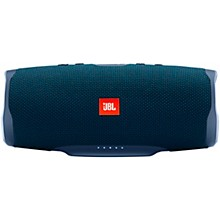 Charge 4 Portable Bluetooth Speaker w/built in battery, IPX7, and USB charge out Blue