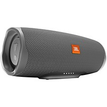 Charge 4 Portable Bluetooth Speaker w/built in battery, IPX7, and USB charge out Gray