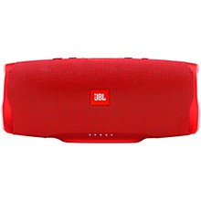 Charge 4 Portable Bluetooth Speaker w/built in battery, IPX7, and USB charge out Red