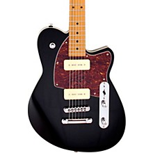 Charger 290 Roasted Maple Fingerboard Electric Guitar Midnight Black
