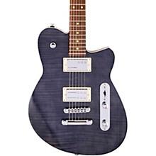Charger RA Dark Roasted Pau Ferro Fingerboard Electric Guitar Black