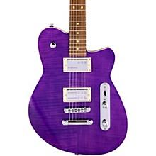 Charger RA Dark Roasted Pau Ferro Fingerboard Electric Guitar Purple